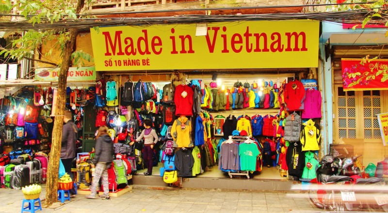 Shopping in Vietnam